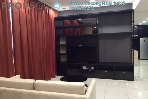 For Rent Condominium at Uptown Residences, Damansara Utama Freehold Fully Furnished 1R/2B 3k