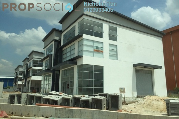 For Sale Factory at Gravitas, Shah Alam Leasehold Unfurnished 0R/0B 4.47m