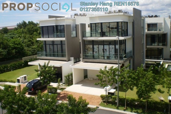 For Sale Semi-Detached at Lake Edge, Puchong Leasehold Semi Furnished 5R/5B 2.5m