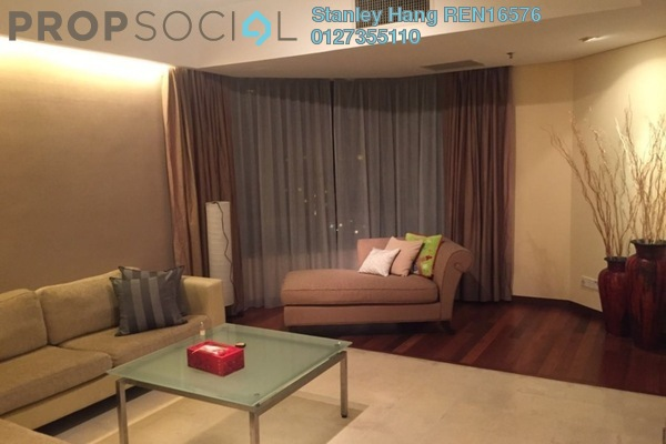 For Rent Condominium at i-Zen Kiara II, Mont Kiara Freehold Fully Furnished 4R/3B 4.6k