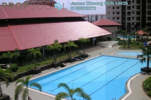 For Rent Condominium at Casa Tropicana, Tropicana Leasehold Semi Furnished 2R/2B 1.8k