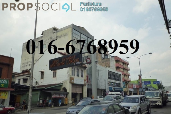 For Sale Shop at Jalan Pudu, Pudu Freehold Unfurnished 0R/0B 4m