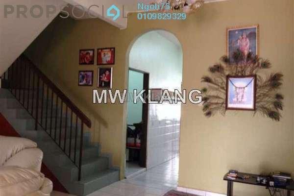 For Sale Terrace at Taman Bayu Perdana, Klang Freehold Semi Furnished 4R/3B 560k