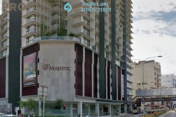 For Rent Condominium at D'Majestic, Pudu Freehold Fully Furnished 1R/1B 2.1k
