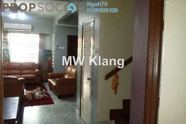 For Sale Terrace at Bandar Bukit Raja, Klang Freehold Semi Furnished 2R/2B 475k