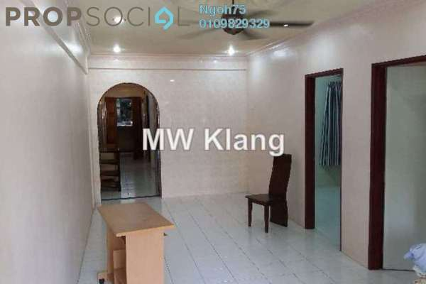 For Rent Apartment at Vista Bayu, Klang Freehold Semi Furnished 3R/2B 1.1k