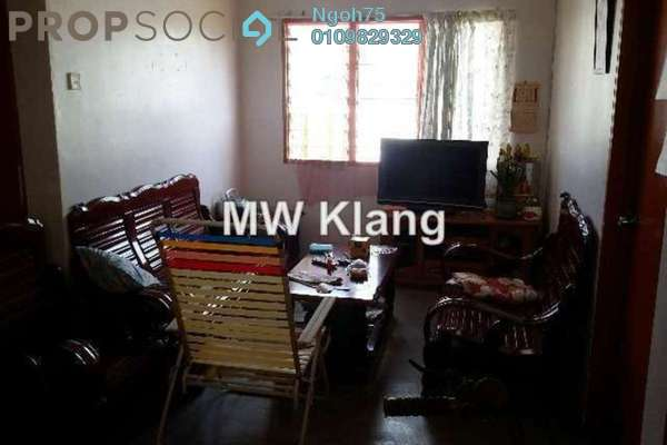 For Sale Apartment at Bandar Bukit Raja, Klang Freehold Unfurnished 3R/1B 70k