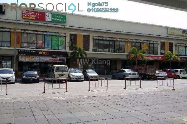 For Sale Shop at Bandar Bukit Raja, Klang Freehold Semi Furnished 0R/0B 1.65m