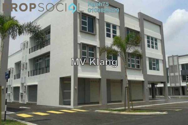 For Rent Office at Bandar Bukit Raja, Klang Freehold Unfurnished 0R/0B 18k