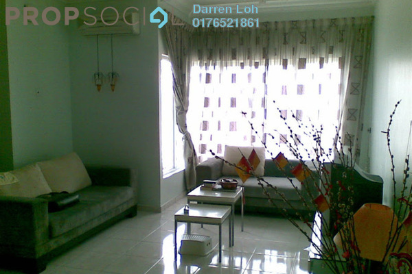 For Sale Condominium at Desa Impiana, Puchong Freehold Semi Furnished 3R/2B 430k
