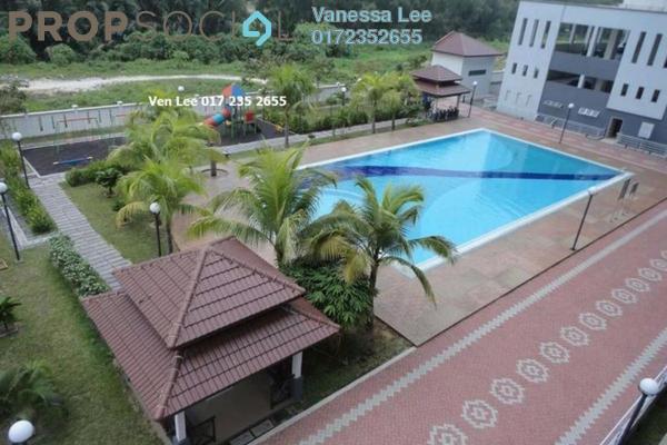 For Rent Apartment at BK1, Bandar Kinrara Freehold Unfurnished 4R/3B 1.2k