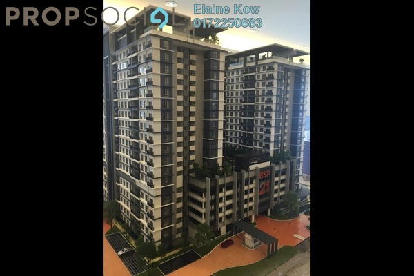 For Sale Condominium at BSP Skypark, Bandar Saujana Putra Leasehold Unfurnished 3R/2B 400k