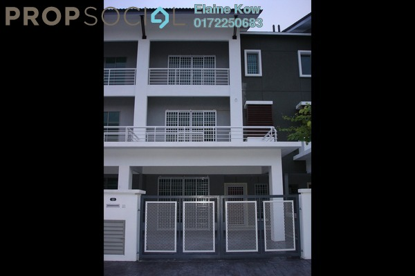 For Sale Terrace at Taman Meranti Jaya, Puchong Freehold Semi Furnished 5R/4B 980k