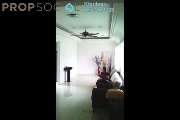 For Sale Terrace at Taman Bukit Mutiara, Kajang Freehold Fully Furnished 3R/2B 504k