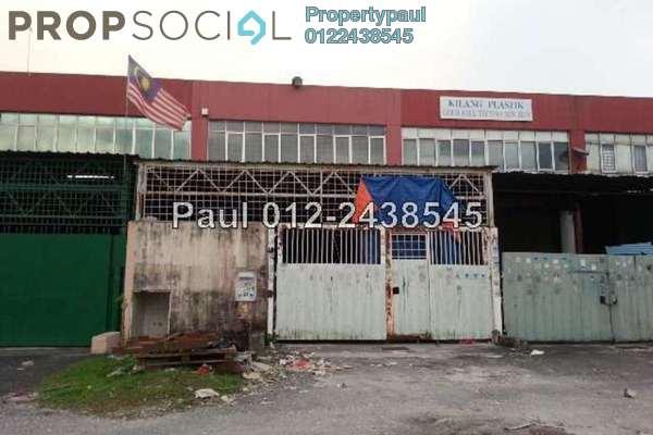 For Sale Factory at Pusat Bandar Puchong Industrial Park, Pusat Bandar Puchong Freehold Unfurnished 0R/0B 1.33m