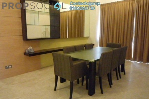 For Sale Terrace at Taman Kosas, Ampang Leasehold Semi Furnished 4R/3B 550k