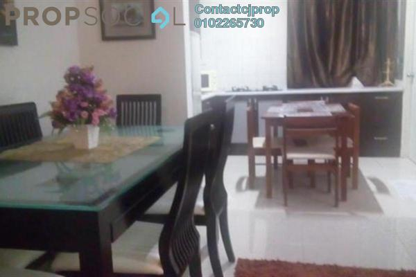For Sale Apartment at Mesra Terrace, Dutamas Freehold Semi Furnished 3R/2B 340k