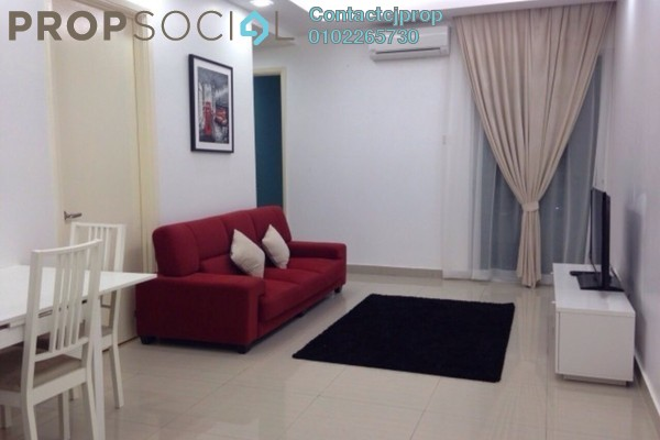 For Sale Condominium at Millennium Tower, Gurney Drive Freehold Semi Furnished 3R/2B 700.0千