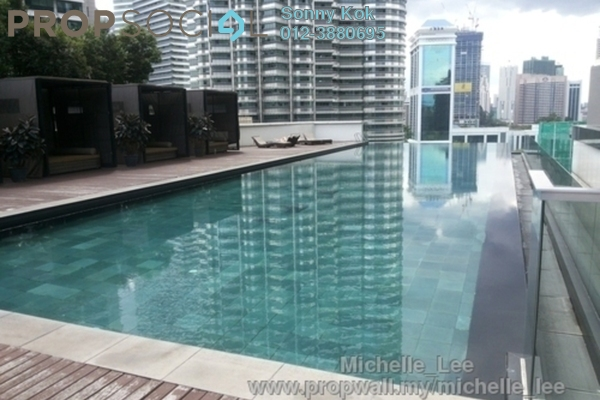 For Sale Condominium at K Residence, KLCC Freehold Semi Furnished 4R/4B 3.4百万