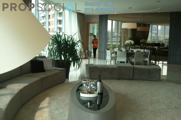 For Sale Condominium at The Oval, KLCC Freehold Semi Furnished 3R/3B 4.9百万