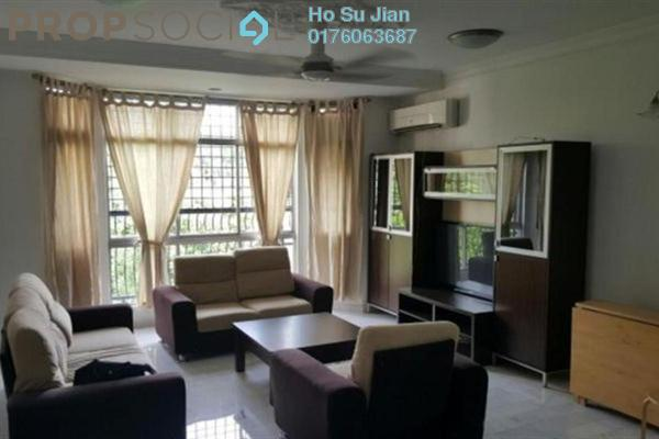 For Rent Apartment at Nova I, Segambut Freehold Fully Furnished 3R/2B 1.7k