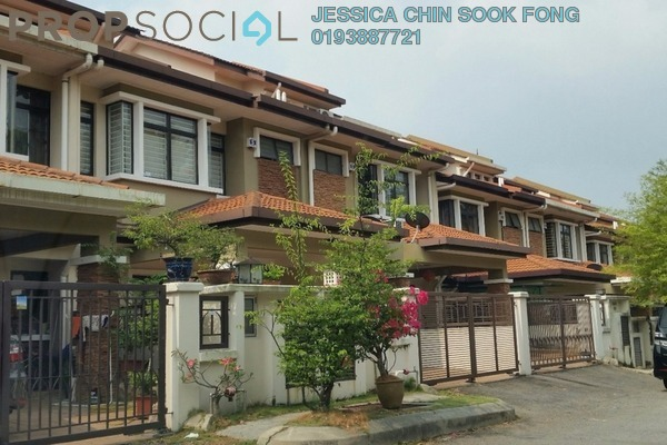 For Sale Terrace at Puteri 11, Bandar Puteri Puchong Freehold Semi Furnished 4R/4B 1.2m
