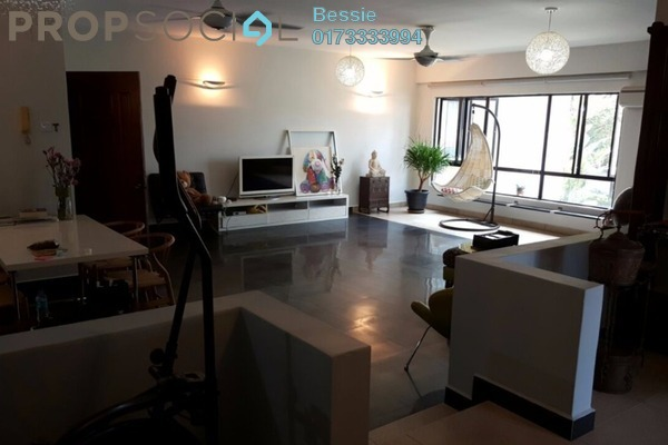 For Sale Condominium at Cameron Towers, Gasing Heights Freehold Semi Furnished 3R/2B 818k