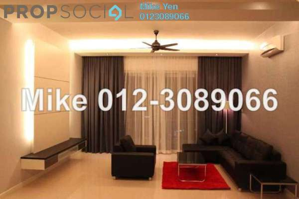 For Rent Condominium at The Park Residences, Bangsar South Leasehold Fully Furnished 3R/3B 7k