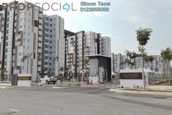 For Sale Condominium at Seri Mutiara, Setia Alam Freehold Unfurnished 3R/2B 335k