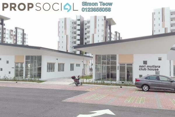 For Sale Apartment at Seri Mutiara, Setia Alam Freehold Unfurnished 3R/2B 340k
