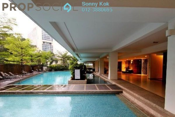 For Sale Condominium at Idaman Residence, KLCC Freehold Semi Furnished 4R/4B 1.4百万