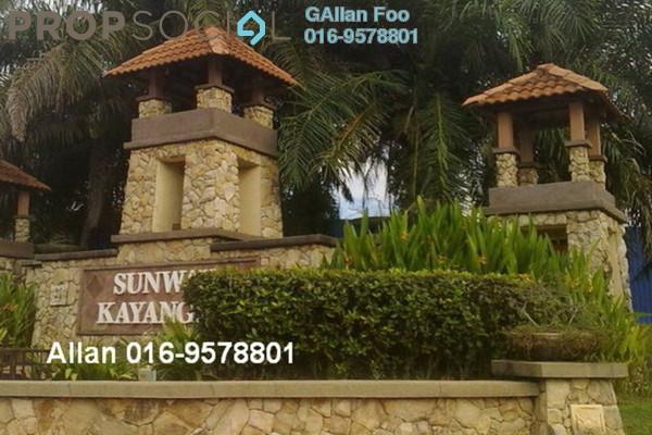 For Rent Terrace at Sunway Kayangan, Shah Alam Leasehold Semi Furnished 3R/2B 1.6k