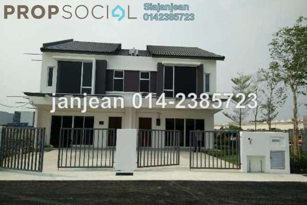 For Sale Terrace at D'Sara Sentral, Sungai Buloh Leasehold Unfurnished 4R/3B 566k