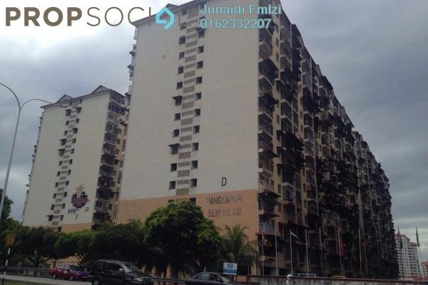 For Sale Apartment at Seri Nilam Apartment, Ampang Freehold Unfurnished 3R/2B 120k