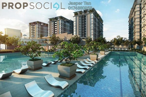 For Sale Serviced Residence at BSP 21, Bandar Saujana Putra Leasehold Semi Furnished 3R/2B 480k