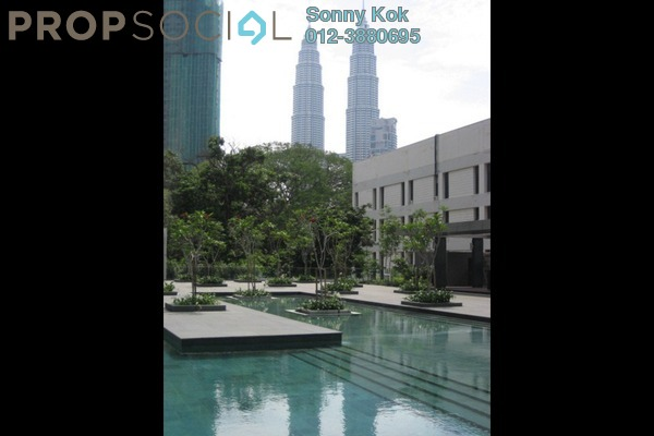 For Rent Condominium at Dua Residency, KLCC Freehold Semi Furnished 5R/4B 8.8k