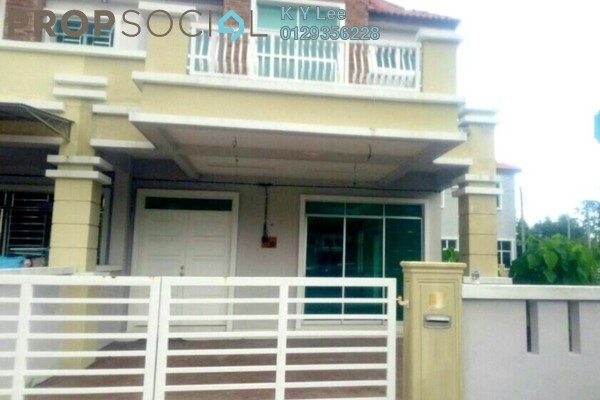 For Rent Terrace at Taman Titi Heights, Balik Pulau Freehold Unfurnished 4R/3B 1.5k