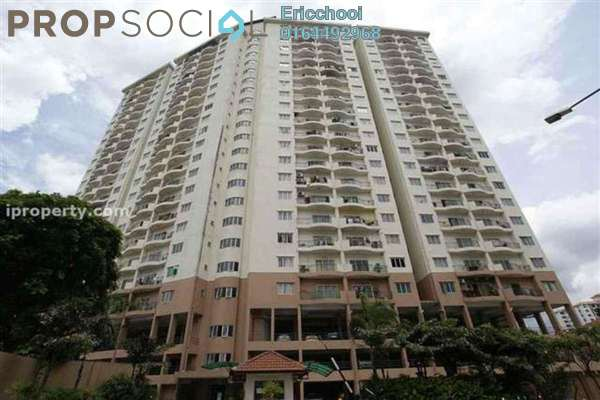 For Sale Condominium at Prima Setapak I, Setapak Leasehold Semi Furnished 4R/3B 800k