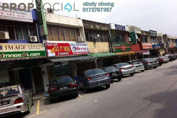 For Sale Shop at Taman Sri Muda, Shah Alam Freehold Unfurnished 0R/0B 728k