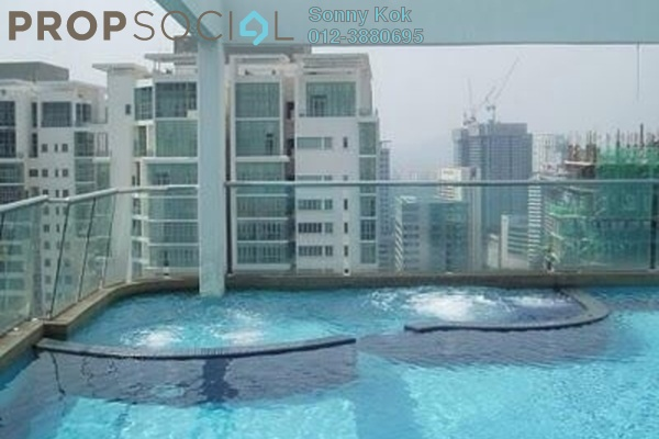 For Rent SoHo/Studio at Parkview, KLCC Freehold Fully Furnished 1R/1B 3k