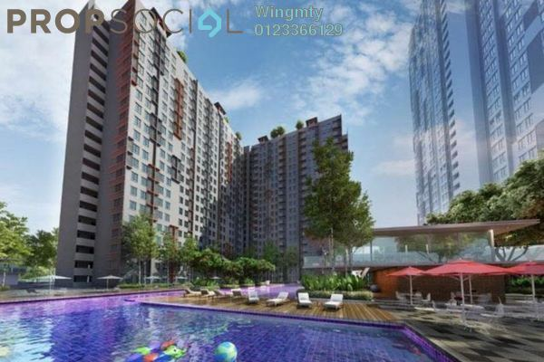 For Sale Condominium at Vega Suites @ Selayang Star City, Selayang Leasehold Unfurnished 1R/1B 322k