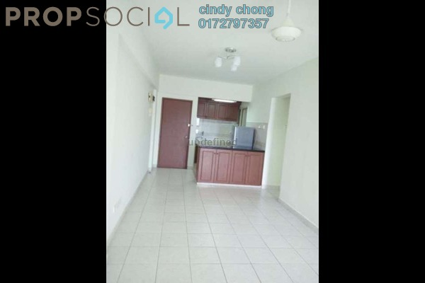 For Rent Apartment at Pelangi Damansara Sentral, Mutiara Damansara Leasehold Semi Furnished 3R/3B 1.2k