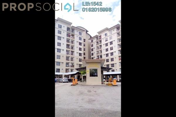 For Rent Apartment at Vista Mahkota Apartment, Bandar Mahkota Cheras Freehold Unfurnished 3R/2B 1k