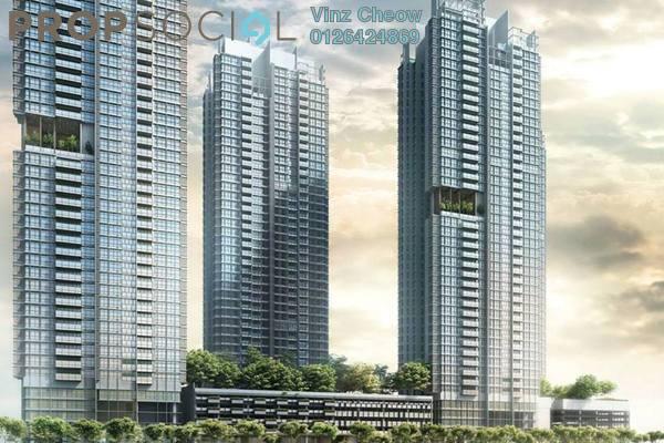 For Sale Condominium at Astoria, Ampang Hilir Leasehold Semi Furnished 3R/2B 452k