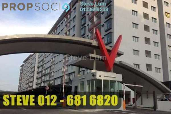 For Rent Apartment at Suria Residence, Bukit Jelutong Freehold Semi Furnished 3R/2B 1.1k