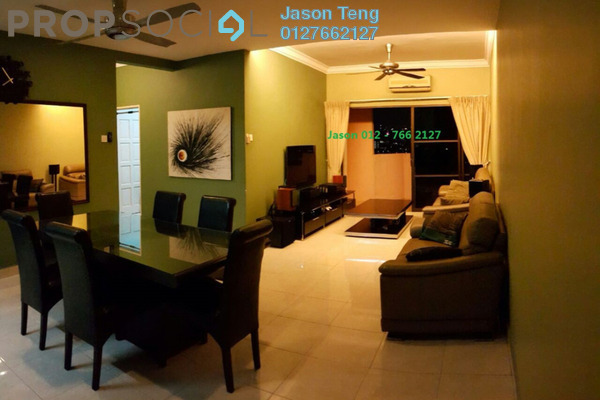 For Sale Apartment at Villamas Apartment, Bandar Puchong Jaya Freehold Fully Furnished 3R/2B 455k