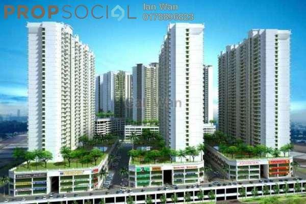 For Rent Serviced Residence at OUG Parklane, Old Klang Road Freehold Semi Furnished 3R/2B 1.2k
