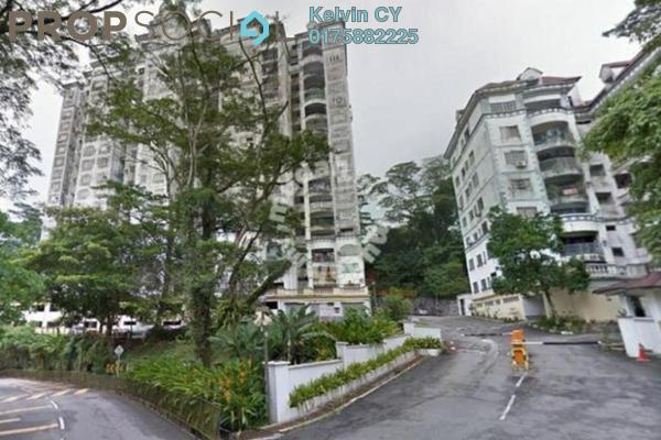 For Sale Apartment at Le Chateau, Seputeh Freehold Semi Furnished 3R/2B 310k