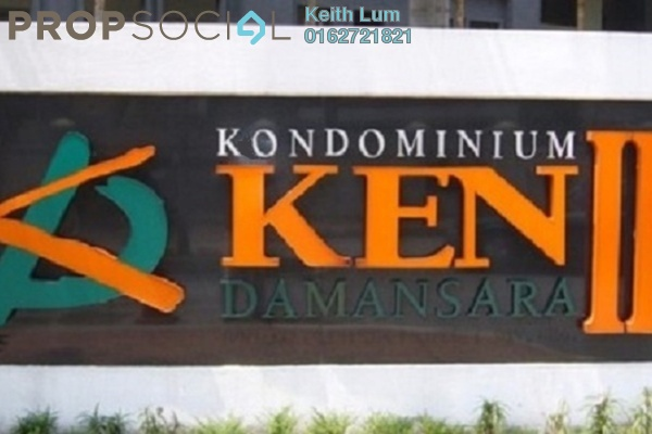 For Rent Condominium at Ken Damansara II, Petaling Jaya Freehold Fully Furnished 3R/2B 3.2千