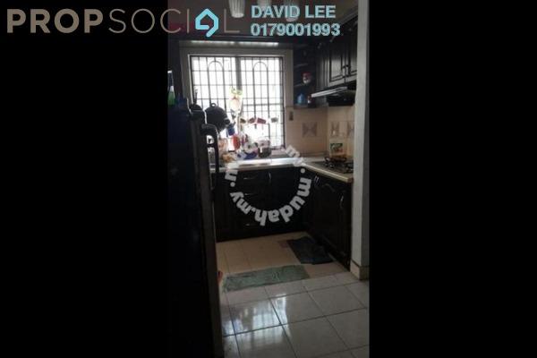 For Rent Condominium at Salvia Apartment, Kota Damansara Leasehold Semi Furnished 3R/2B 1.2k